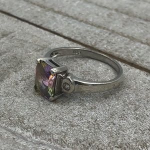 Jewelry - Sterling Silver and Mystic Topaz Ring